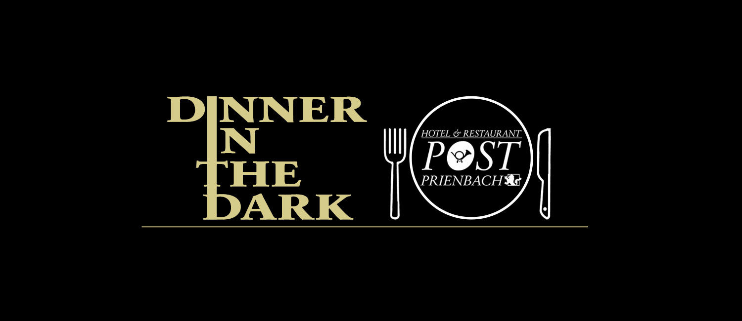 Dinner in the Dark am 12.10.